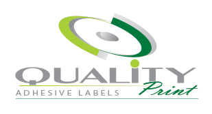 quality print english logo